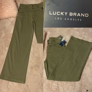 Lucky 🍀 Brand Green Jeans